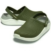 Crocs LiteRide Clog Army Green/White арт. 00165