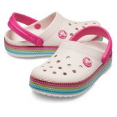 Kids' Crocband Sequin Band Clog арт. 00193
