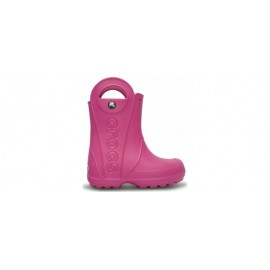 Crocs Kids' Handle It Rain Boot Fuchsia