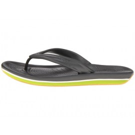 Crocs Retro Flip Flop Graphite